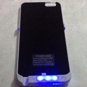 Accessories - 4200mAh Portable Backup External iPhone 6 Plus